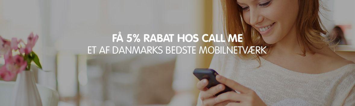 Call Me rabatkode